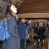 """Project team members were present at International workshop regarding the sustainability of projects financed under the EEA Grants. The event took place between October 24th and 25th 2017 in Cluj Napoca. The workshop gathered representatives of the Programme partner, the Directorate for Cultural Heritage in Norway, representatives of Programme Operators from the Czech Republic, Lithuania and Poland, along with projects partners from the Donor States and project promoters. On the first day of the event the participants visited the wooden churches Cizer and Petrindu. The director of the museum, Mr. Tudor Sălăgean presented the history of the two churches as well as the works of restoration that have been realized within the framework of the project """"Preservation – Restoration and valorisation of wooden churches Petrindu and Cizer""""."""